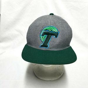 Tulane Green Wave NCAA Stacked Box Adidas Snapback